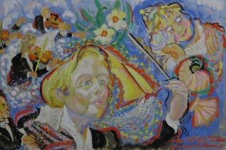 James Paul Brown: Little Girl listens to SeaShell