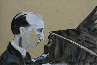 James Paul Brown: Piano Player