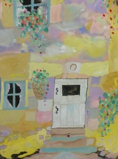 James Paul Brown: Two Windows with Lucky Door