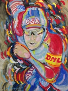 James Paul Brown: Olympic Speed Skater ...DHL
