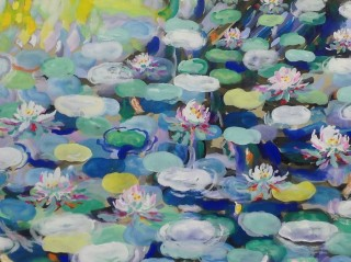 James Paul Brown: Lily Pond Flowers
