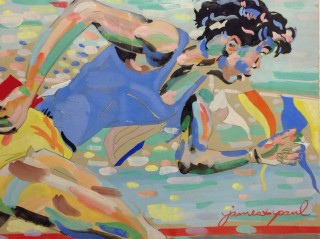 James Paul Brown: Running Girl